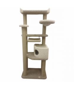 """Игровой комплекс для кошек ковролиновый """"ДИК-130"""" 80*45*210 см."""