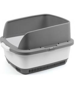Набор Cateco (туалет, бортики, совок, 10 пеленок), серый, 55*43*33,5см