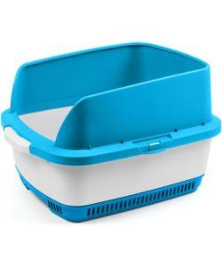 Набор Cateco (туалет, бортики, совок, 10 пеленок), синий, 55*43*33,5см
