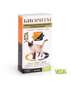 БИОРИТМ со вкусом кролика для кошек