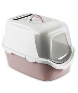 Туалет-Домик Cathy Easy Clean с угольным фильтром, пудровый, 56*40*40см