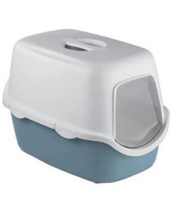 Туалет закрытый Cathy, синий с угольным фильтром, 56*40*40см