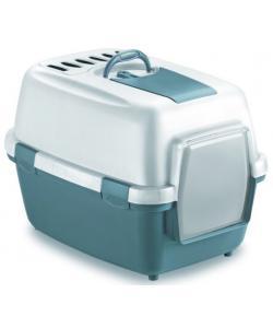 Туалет закрытый Wivacat, с угольным фильтром, синий, 55*40*40см