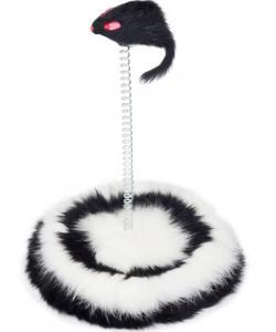 """Игрушка для кошек """"Мышь на подставке"""", 14*25см (SH10)"""