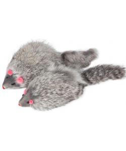 """Игрушка для кошек """"Мышь серая"""", 9-10см, 2шт. (M004NG)"""