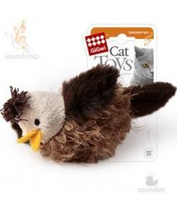 Игрушка для кошек Птичка со звуковым чипом, 6 см (75223)