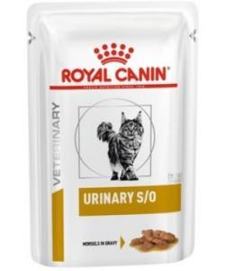 Кусочки в соусе для кошек при профилактике МКБ (Urinary S/O feline in sause)