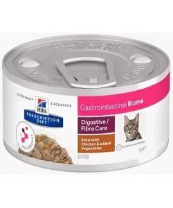Консервы для кошек рагу с курицей при расстройствах пищеварения Gastrointestinal Biome