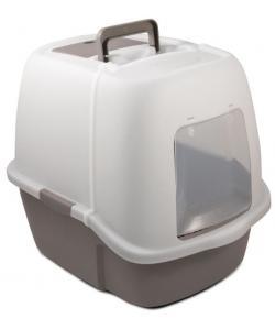 Туалет для кошек закрытый с совком, 51*39*43 см (P900)
