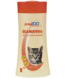 Шампунь от блох и клещей для котят