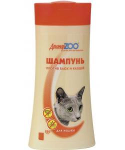 ШIампунь от блох и клещей для кошек