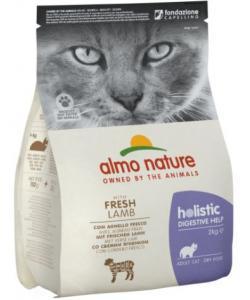 Для кошек: профилактика заболеваний ЖКТ, ягненок (Holistic Cat Dry Digestive help - Lamb)