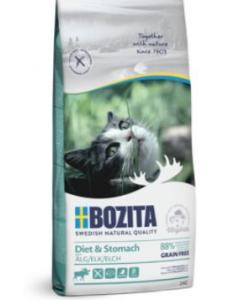 Сухой беззерновой корм для кошек с чувствительным пищеварением, избыточным весом и старше 7 лет, с мясом лося, Sensitive Diet & Stomach Grain Free 34/10