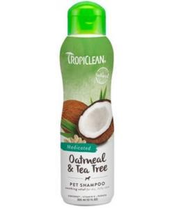 """Шампунь лечебный от зуда и перхоти """"Овсянный с маслом чайного дерева"""" (Oatmeal/Tea Tree) для собак и кошек"""
