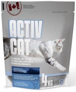 Комкующийся наполнитель ActivCat, аромат альпийской свежести (Scoopable Litter)