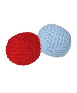 """Игрушка для кошки """"Мяч трикотажный"""", 2 шт.4,5 см, (45728)"""