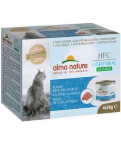 """Набор 4 шт. по 50 г. Низкокалорийные консервы для кошек """"Атлантический Тунец"""" (Natural Light Meal - Atlantic Tuna)"""