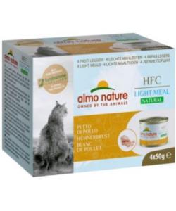 """Набор 4 шт. по 50 г. Низкокалорийные консервы для кошек """"Куриная Грудка"""" (Natural Light Meal - Chicken Breast)"""