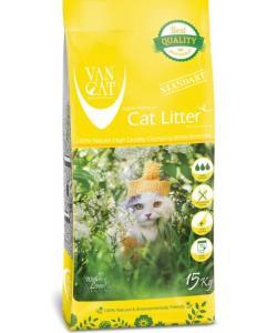 Комкующийся наполнитель для Крупных кошек, без пыли, пакет (Natural Standart)