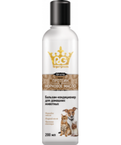 Royal Groom бальзам-кондиционер с протеином и норковым маслом для всех видов животтых