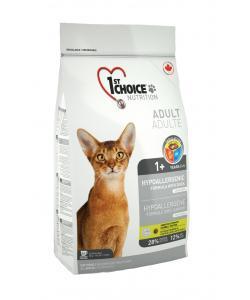 Для кошек гиппоаллергенный беззерновой корм с уткой и картошкой (Hypoallergenic)