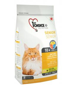 Для пожилых кошек  с цыпленком(Mature or less active)