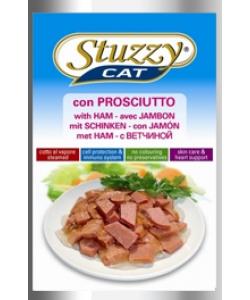 Консервы для кошек с ветчиной STUZZYCAT