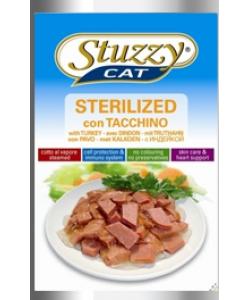 Консервы для стерилизованных кошек и кастрированных котов STUZZYCAT