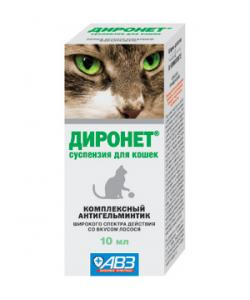 Диронет От глистов для кошек (суспензия)