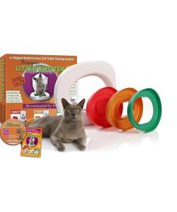 Система приучения кошек к туалету «Litter Kwitter»